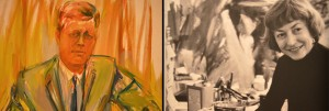 Elaine de Kooning Paints a Portrait