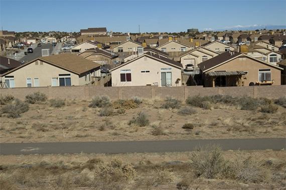 Albuquerque sprawl.