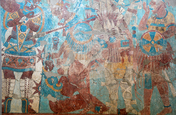 Cacaxtla mural