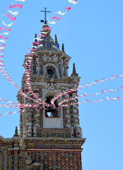 San Francisco Acatepec Church in Cholula